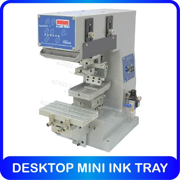 DESKTOP MINI INK TRAY