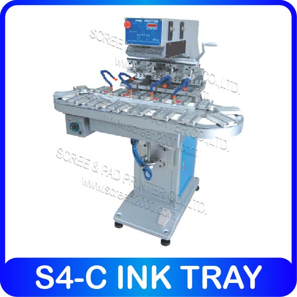 S4/C INK TRAY